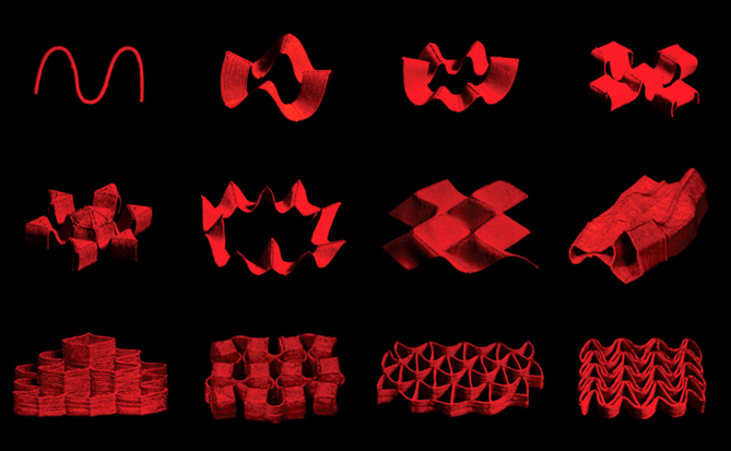 Fast-transforming soft materials into complex shapes with programmed ferromagnetic domains - The Latest Science